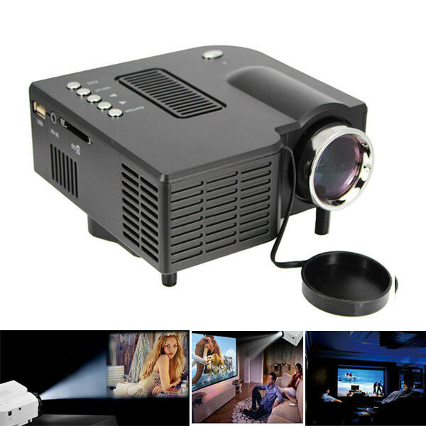 UC28 HDMI Mini Micro AV LED Digital Video Game Projector Multimedia player Home