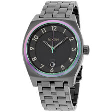 Nixon A325-1698 Ladies The Monopoly Gunmetal Multi Watch