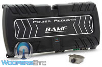 Power Acoustik Bamf5-2500 5-channel 2500w Component Speakers Subwoofer Amplifier