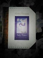 Anne Geddes Baby Names Keepsake Book