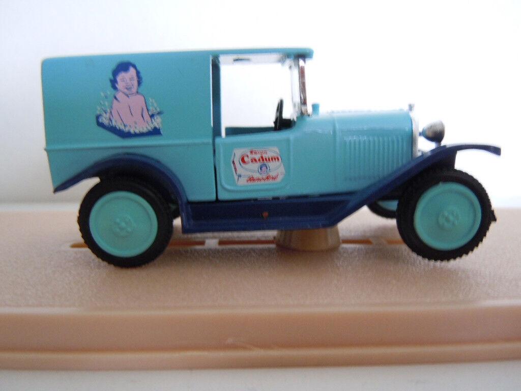 Camion Citroen 5cv PUB BEBE CADUM Marque ELIGOR made in France