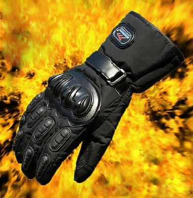 Motorcycle Waterproof Windproof Winter keep Warm Protector Leather Gloves M-XXL