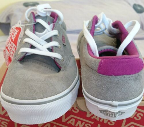 Vans Bnib Zapatillas Girls de Uk Winston de deporte Suede Orchid 2 deporte 5 Grey Deep Boys Zapatillas rrvXwP