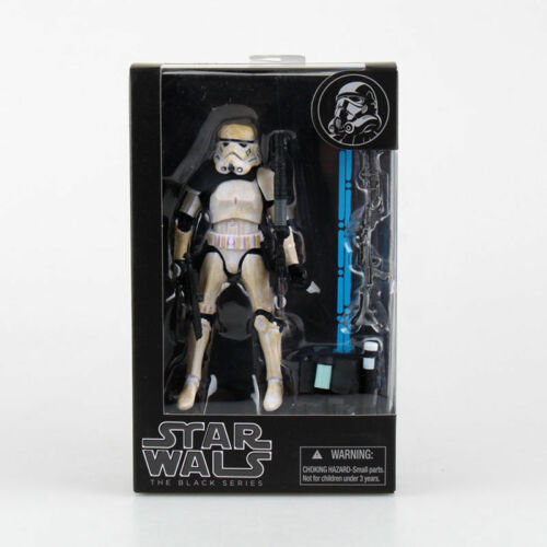 "Star wars Clone Sandtrooper  6/"" Stormtrooper Action Figure the Black Series NIB"