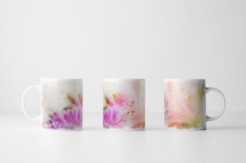 Orchideen in Zartrosa Tasse Geschenk Naturfotografie