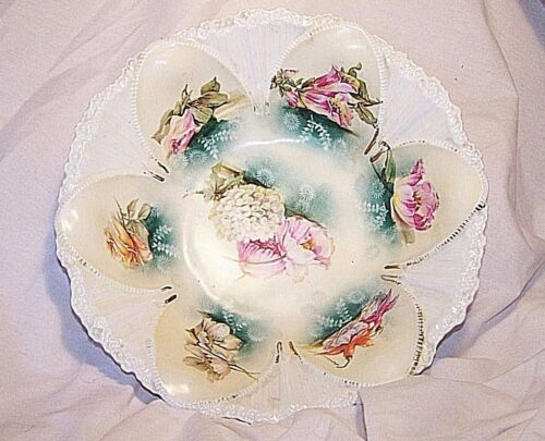 ANTIQUE * R.S.PRUSSIA SERVING BOWL * MARKED*NO FRACTURES,CRACKS SEE PHOTOS