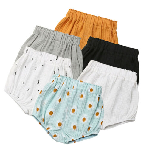 Infant Baby Boy Girl Kid Cotton Pants Shorts Bottoms PP Bloomers Panties 0-5Y US