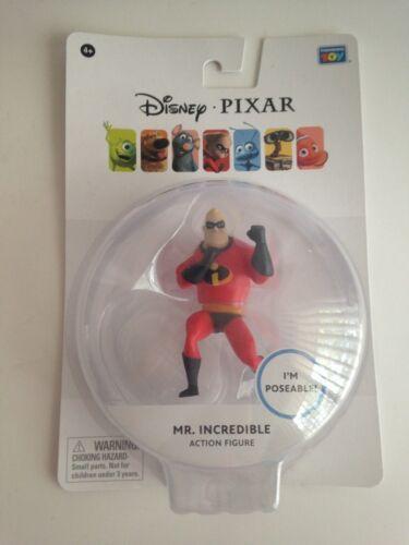 Disney Pixar Exclusif 7.6cm Mini Figurines Wall-E//Veille// Mr Incroyable //Nemo