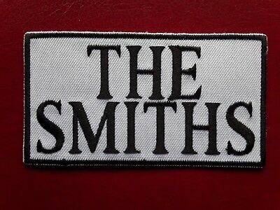 THE SMITHS IRON-OR SEW EMBROIDERED QUALITY PATCH PUNK ROCK MUSIC BAND UK SELLER