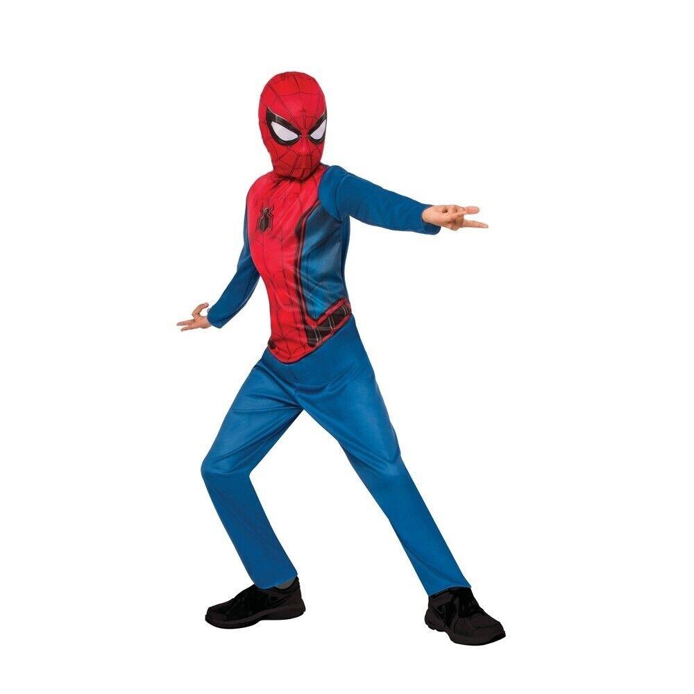 Marvel Spiderman Homecoming Boys Spider-Man Halloween Costume 12-14 Large #5213