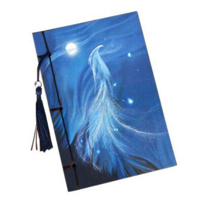 Vintage tassel Notebook Vintage Style Notebook Diaries Notebook with Tassel I1E4