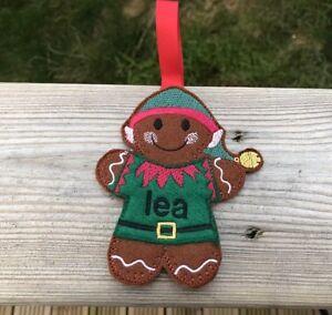 Christmas-Decoration-Elf-Gingerbread-Men-Tree-Decoration