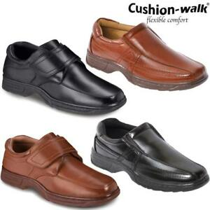 Mens-Cushion-Walk-Ultra-Lightweight-Slip-On-Casual-Walking-Boat-Driving-Shoes-Sz