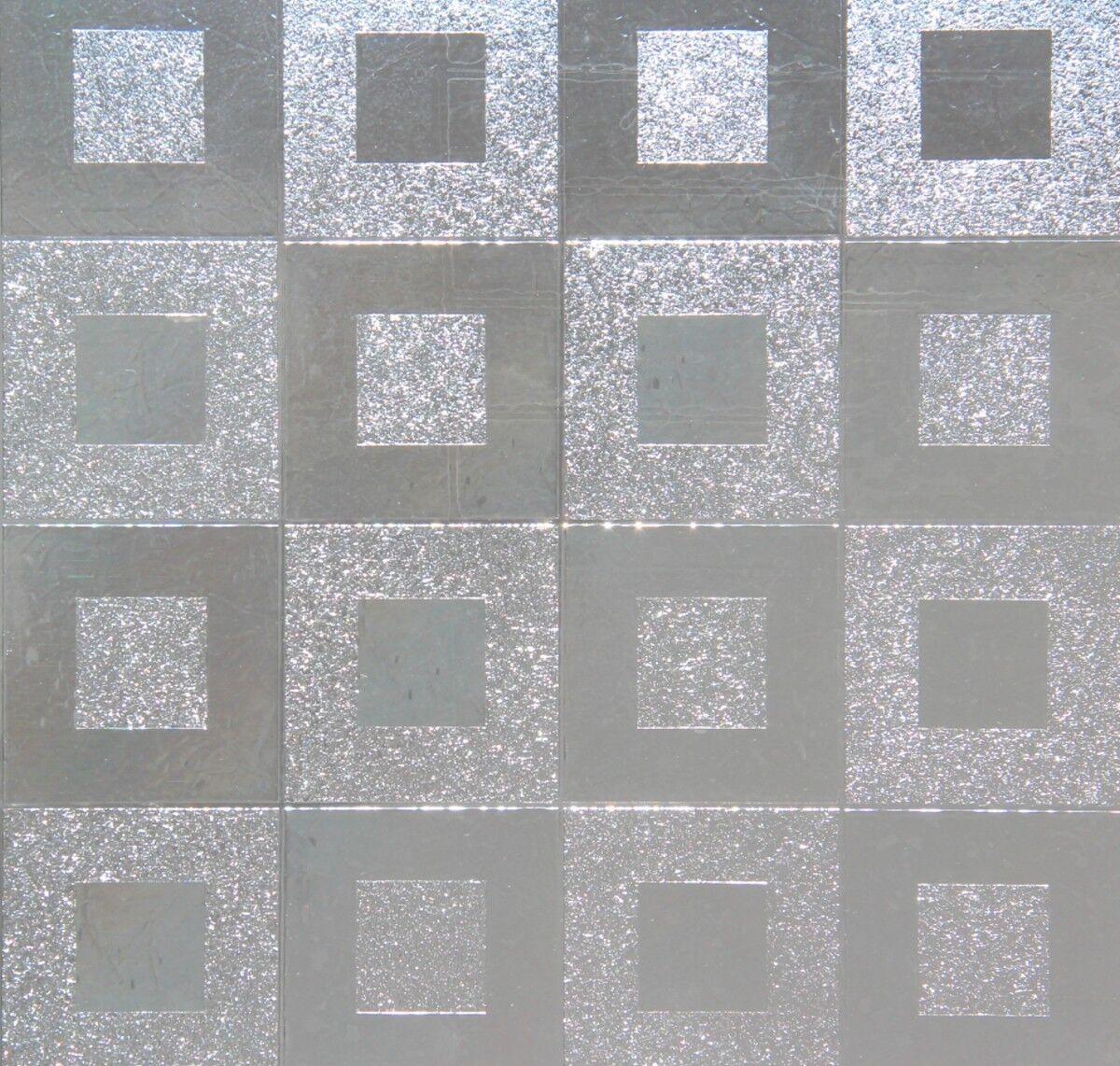 LINEA Fix Dekorfolie statische Fensterfolie Sidney 46 cm hoch viele Größen Folie