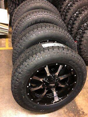 """20/"""" Inch Moto Metal MO970 20x10-24mm Gray//Black Wheel Rim 6x135//6x5.5/"""""""