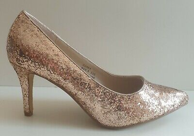 Heavenly Souls Next Womens Gold Sparkly