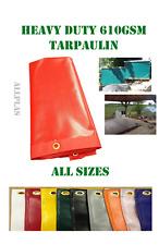 Heavy duty tarpaulin waterproof camping  ground sheet cover GREAT VALUE
