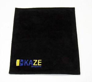KAZE-SPORTS-Premium-Leather-Towel-Shammy-Pad-Bowling-Ball-Cleaner-Polisher