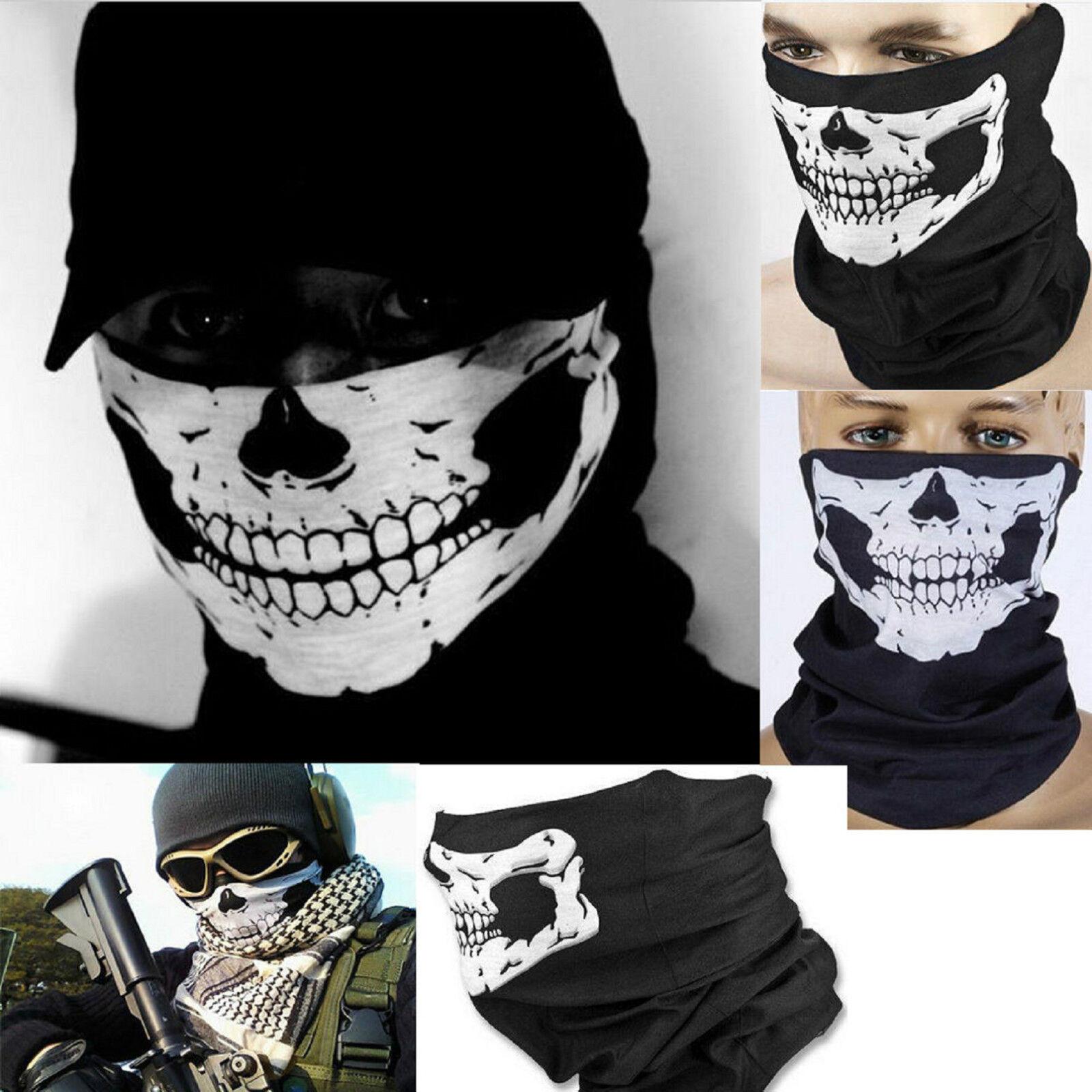 3 Confezione Bohend Nero Cranio Sciarpa facciale Sport Bandana Gaiter del collo Multifunzionale Cuffie Traspirante Le nostre porte Fasce Per Uomini
