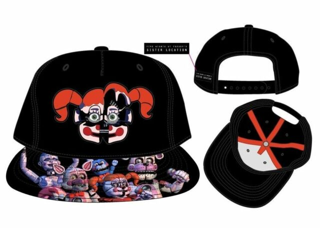 Official- Five Nights at Freddy s (Monsters Face) SL Snapback Cap- 7cf3457c13