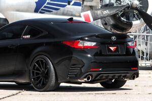 20 Ferrada Fr4 Matte Black Concave Wheels For Maserati Ghibli 2014