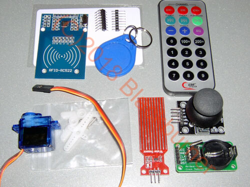 LCD-Display Matrix-LED RFID Starter Kit Set Arduino UNO R3 Box Uhr-Modul