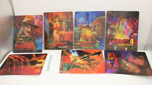 A NIGHTMARE ON ELM STREET - 3D LENTICULAR Magnet Cover Set FOR Bluray Steelbook