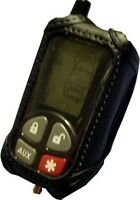 Leather Cover / Case For Clifford 2-way Remotes 479x 489x 7341x 7345x 7701x C2