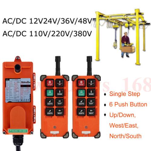 Hoist Crane Radio industriel Télécommande Sans Fil Émetteur /& recevoir F21-E1B