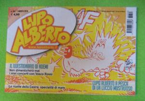 Fumetto-comics-LUPO-ALBERTO-M-398-1-agosto-2018-Silver-VASCO-ROSSI-NOEMI-LB4