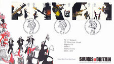 3 OCTOBER 2006 SOUNDS OF BRITAIN RM FIRST DAY COVER ROCK KIDDERMINSTER SHS (a)