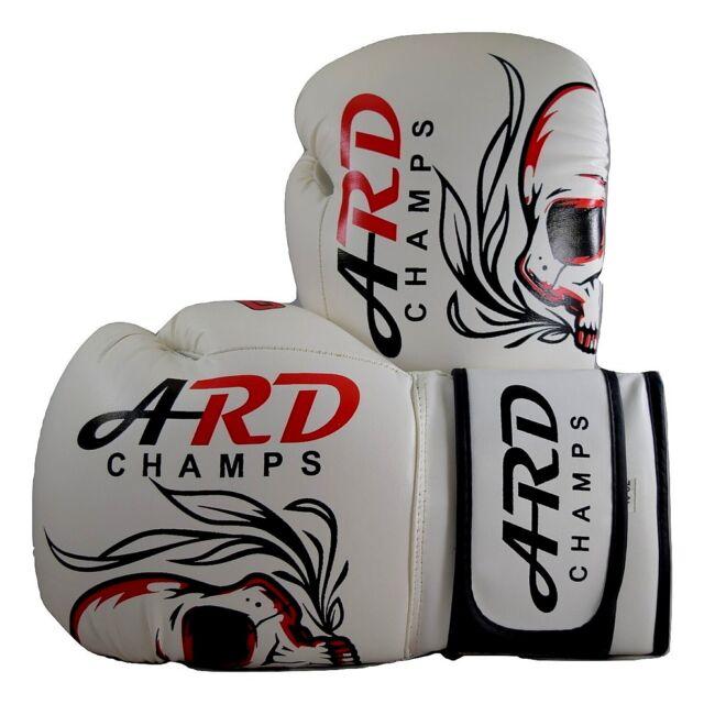 Venum Elite Boxing Gloves White Camo Muay Thai Kickboxing MMA Sparring Training