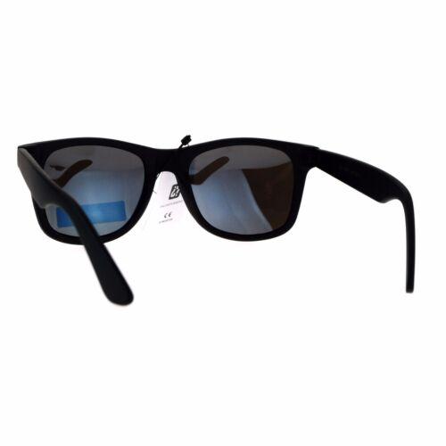 Polarized Mirror Lens Sunglasses Classic Square Unisex Fashion Shades
