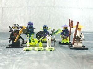 Lego-Ninjago-70734-figurine-Bundle-Cole-Sensei-Wu-GHOST-WARRIOR-Ninja