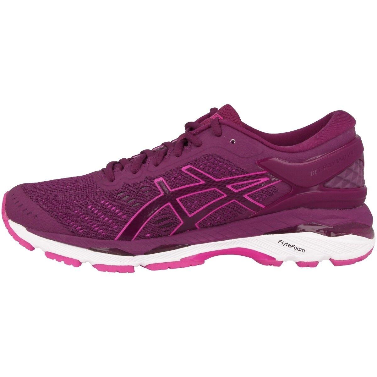 Asics Gel-Kayano 24 Donne shoes da  Corsa Prugna Fucsia Bianco T799N-3320  save up to 70%