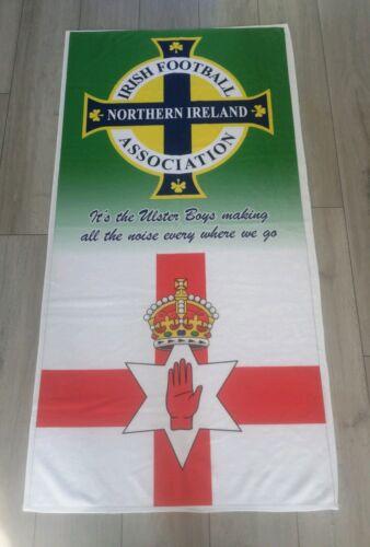 "Ulster Flag Northern Ireland Football Beach Towel 55 X 28 inch /"" Ulster Boy/'s /"""