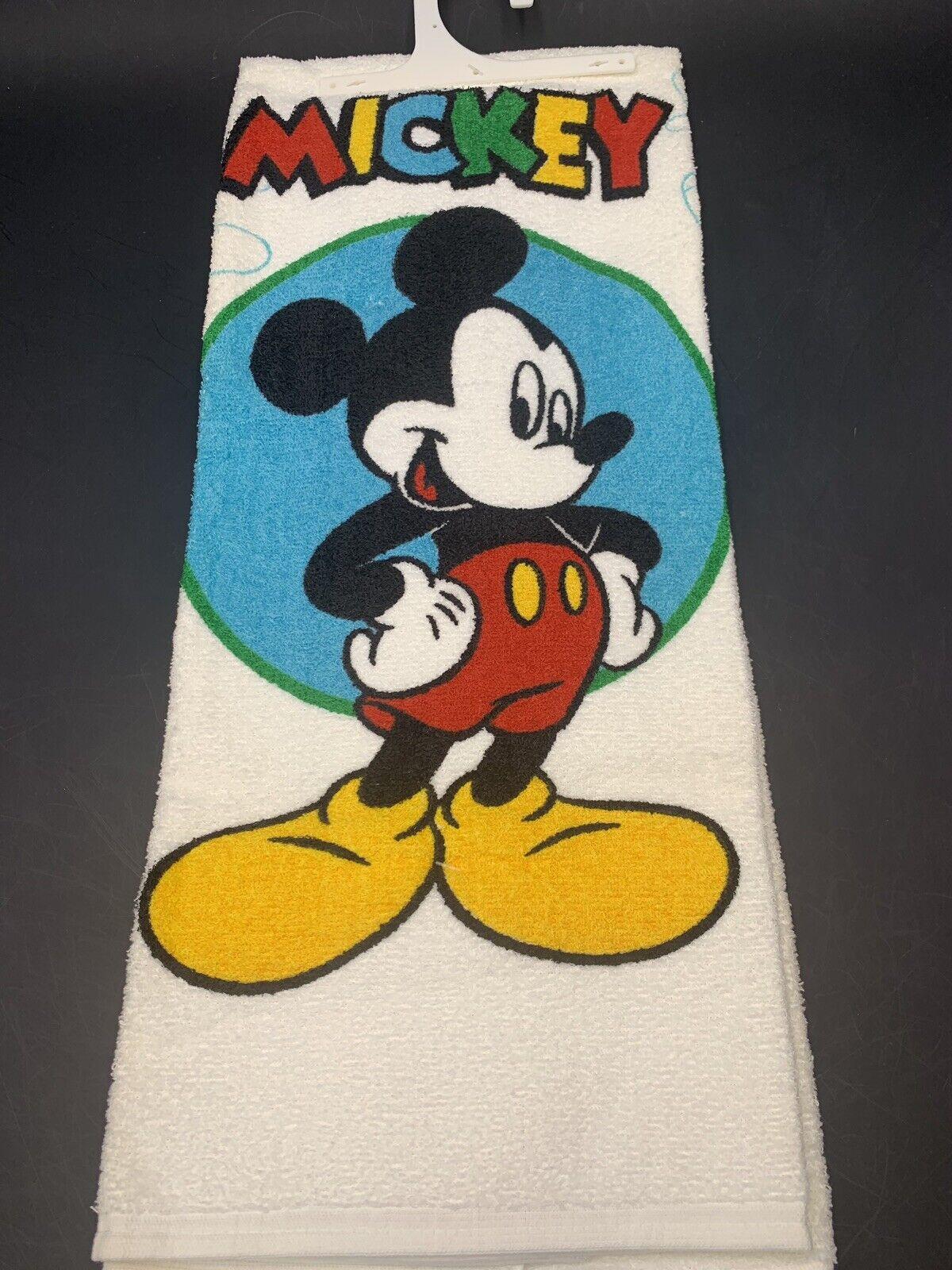 White Disney Vintage Minnie /& Mickey Mouse Cotton Beach Bath Towel Quick Dry Ultra Soft Large Size 70 x 140 cm