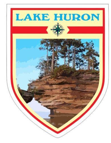 Lake Huron Sticker Decal R7041