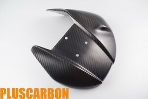 Exhaust Cover// Exhaust Shield Ducati Panigale 899 1199 Twill Carbon Fiber Matt