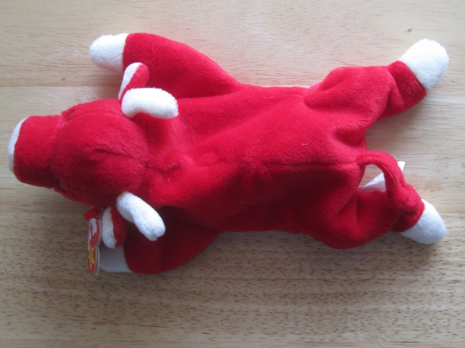TY BEANIE BABIES SNORT THE RED BULL,no BULL,no BULL,no star on tag, Great condition 8f468c