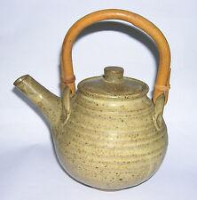 Sycamore Farm Studio Pottery - Stoneware Teapot Cane Handle (Japanese inspired).