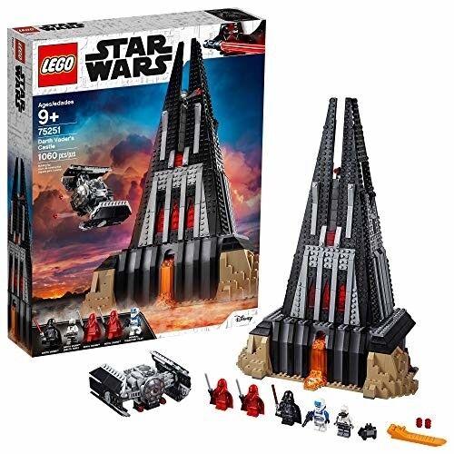 Lego Star Wars Darth Vader's Castle 75251 Building Kit Minifigures Toy Box Se