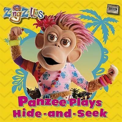 1 of 1 - ZingZillas: Panzee Plays Hide-and-Seek, BBC, New Book