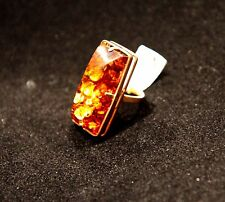 Russian amber ring 585 Gold-14K-New-Size 7