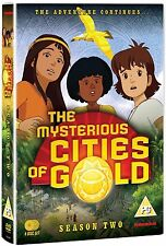 Mysterious Cities of Gold Season TWO - 4 DVD  NTSC USA Format (BoxSet) Region 1