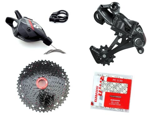 Sram GX1 1x11 speed Trigger-Shifter RD Chain SunRace CSMX8 11-50T Cassette RED