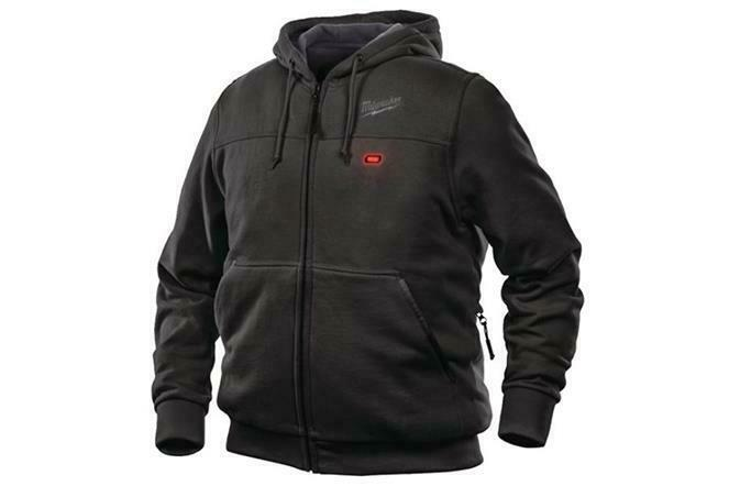 Milwaukee M12HHBL3 Sweatshirt Thermal Schwarz 12V Beheizt Herren ohne Akku