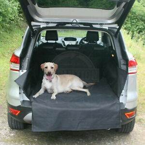 Black Water Resistant Rear Car Seat Dog Pet Cover for Audi Q7 4X4