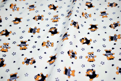 Teletubbies Print Soft Brushed Flannel 100/% Cotton 6 Designs,High Quality