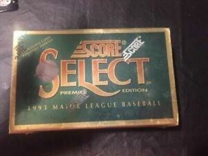 1993-Score-Select-Baseball-Box-Sealed-36-Packs-Possible-Jeter-Rookie